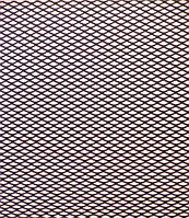 Решітка декоративна Poputchik чорна 1*020 №2 дрібна, фото 1