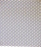 Решітка декоративна чорна 1м*20см, розмір соти №3(5-7мм), фото 1