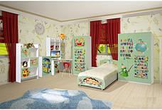Дитяча кімната Мульті Алфавіт Світ Меблів