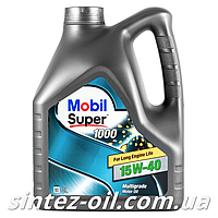 Моторное масло Моторное масло MOBIL SUPER 1000 15W-40 (4л), фото 1