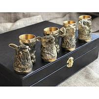 Подарочные чарки из бронзы