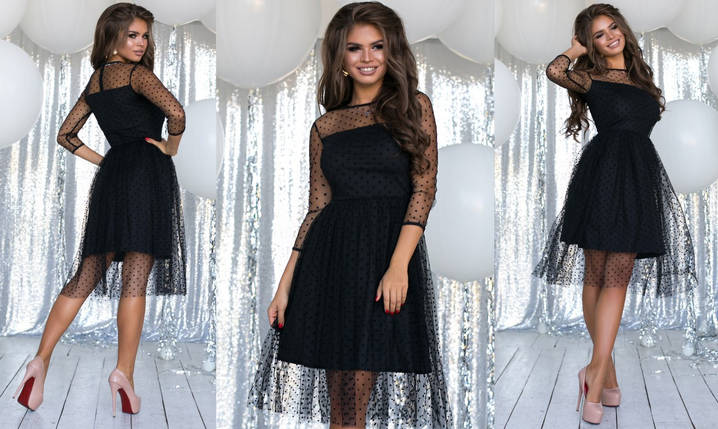 Платье сетка 702098, фото 2