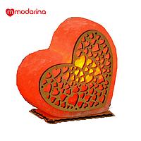 Cоляная лампа  Warming Heart, фото 1