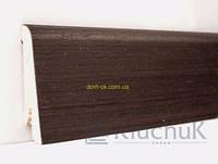 Плинтус Ключук шпонированный Венге  высотой 60 и 80мм 60х18мм., фото 1