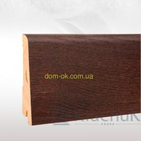Плинтус шпонированый Ключук Neo plint, цвет Дуб коньяк, длина 2,2м 100х19х2200мм