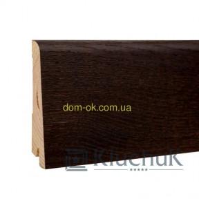 Плинтус шпонированый Ключук Neo plint, цвет Дуб коньяк, длина 2,2м 120х19х2200мм