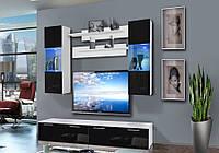 Комплект в вітальню (стенка в гостиную) Ledge 25 WS LE С2 ASM