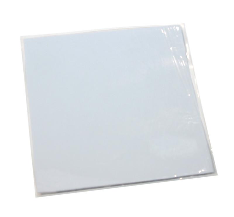 Термопрокладка 4.0 Вт/мК, HY-100-1, 100x100x1mm, White, >4,0W/m-K, -40°?240°, уд