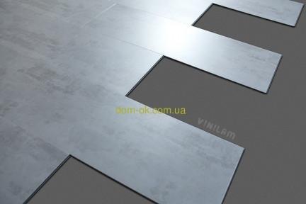 Виниловый ламинат, ПВХ плитка VINILAM 2240-2 Саксония (камень)  Клеевой