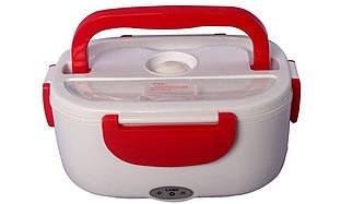 Термоконтейнер для їжі, YS-001, колір – Червоний, електричний ланч бокс