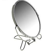 Настільне дзеркало, Two-Side Mirror 19 см, двостороннє дзеркало, це зручне, дзеркало зі збільшенням