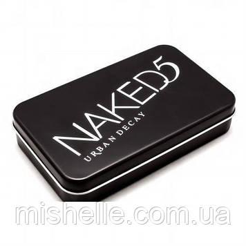 Набор кистей Naked5 в контейнере, 12 шт (реплика)