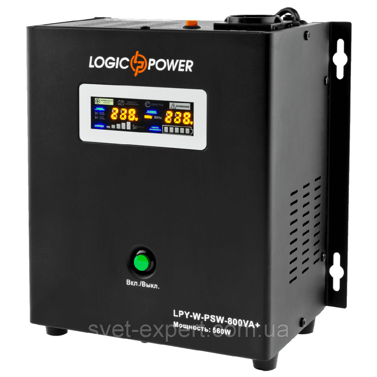 LPY- W - PSW-800VA + (560Вт) 5A/15A 12В