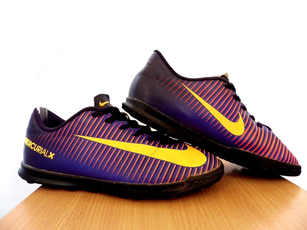 Сороконожки детские Nike MercurialX Vortex ТF 100% Оригинал р-р 38 (24 см)(сток, б/у) original копы найк