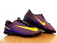 Сороконожки детские Nike MercurialX Vortex ТF 100% Оригинал р-р 38 (24 см)(сток, б/у) original копы найк, фото 1