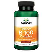 Swanson, Витамин В-100 баланс (100капс.)