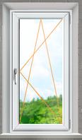 WDS Окно металопластиковое на одну створку открывное