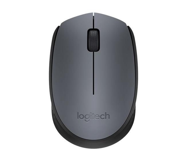 Мышь Logitech M170 Wireless (L910-004642) Black/Gray, Optical, 1000 dpi