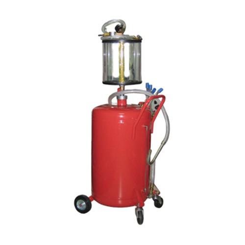 Установка для вакуумной откачки масла с мерной колбой (80 л) G.I.KRAFT B8010KV