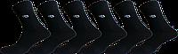 """Чоловічі шкарпетки стрейч чорний """"lomani"""""""