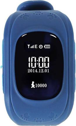 Часы Smart Baby Watch Q50 Dark Blue Гарантия 1 месяц, фото 2