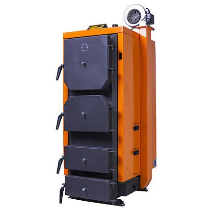Котел на твердом топливе Донтерм Турбо 13 кВт, 130 м², фото 2