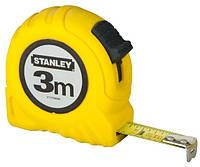 """Рулетка измерительная """"STANLEY"""", 3мх12,7мм, в пластмассовом корпусе."""