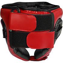 Боксерский шлем детский RDX Red, фото 2