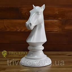 Крупные шахматные фигуры скульптуры из дерева