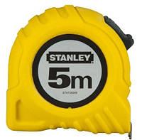 """Рулетка измерительная """"STANLEY"""", 5мх19мм, в пластмассовом корпусе."""