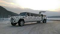 Лимузин Мерседес Гелик 3 оси (Gelandewagen)