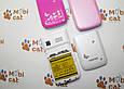 Телефон-раскладушка Guangphone E8 детский мобильный телефон с мигающим красочным корпусом, фото 6