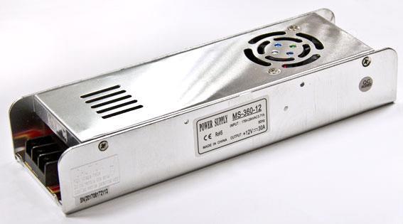 Блок питания 12V 360W (30A) MS