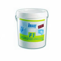 Готовая шпаклевачная смесь 28 кг ведро  Knauf F1