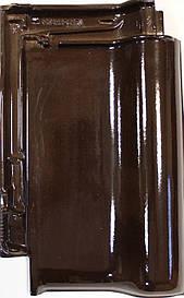 Керамическая черепица Creaton TITANIA  коричневый глазурь финесс