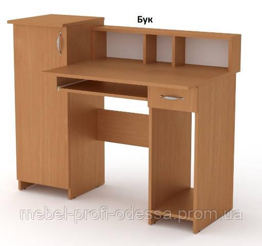 Стол компьютерный Пи-Пи-2 кромка АБС Компанит 1175х600х736+220