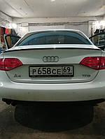Спойлер багажника ( сабля, лип спойлер ) Audi A4 B8 2007-2012 г.в. дорестайлинг, фото 1