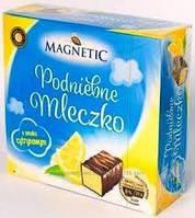 Конфеты птичье молоко (лимон) Magnetic, 500г, фото 1