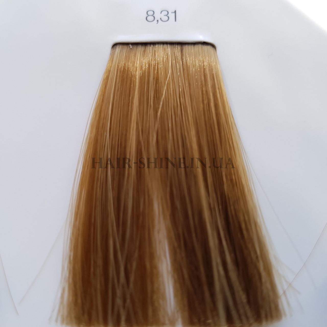 Краска без аммиака 60 мл  L'Oreal Professionnel Inoa 8.31  светлый блондин золотистый пепельный