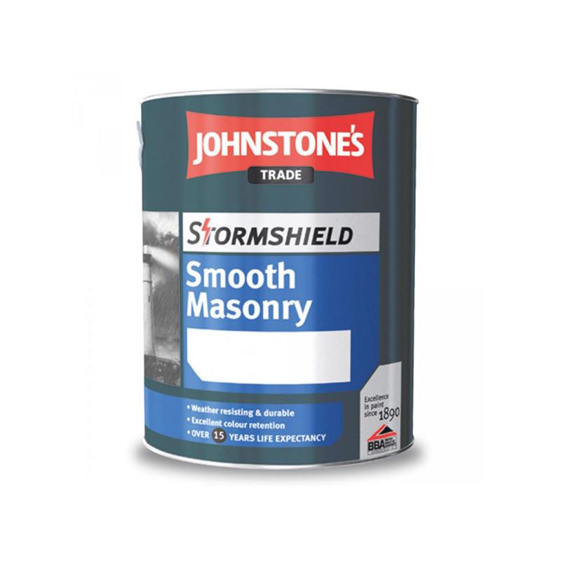 Фасадная краска Johnstones Smooth Masonry Finish 5 л