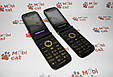Телефон-раскладушка guangphone e6 красивый мобильный телефон в металлическом корпусе, фото 3
