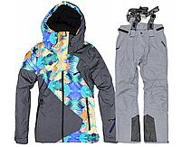 Женский лижний костюм (комплект штаны и куртка зимние) JUST PLAY размер XL