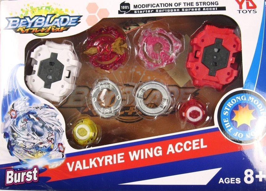 Набор BeyBlade Valkyrie wing accel с 2  запускателями