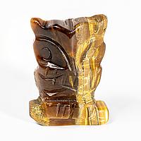 Тигровый глаз, статуэтка Сова, 414ФГТ
