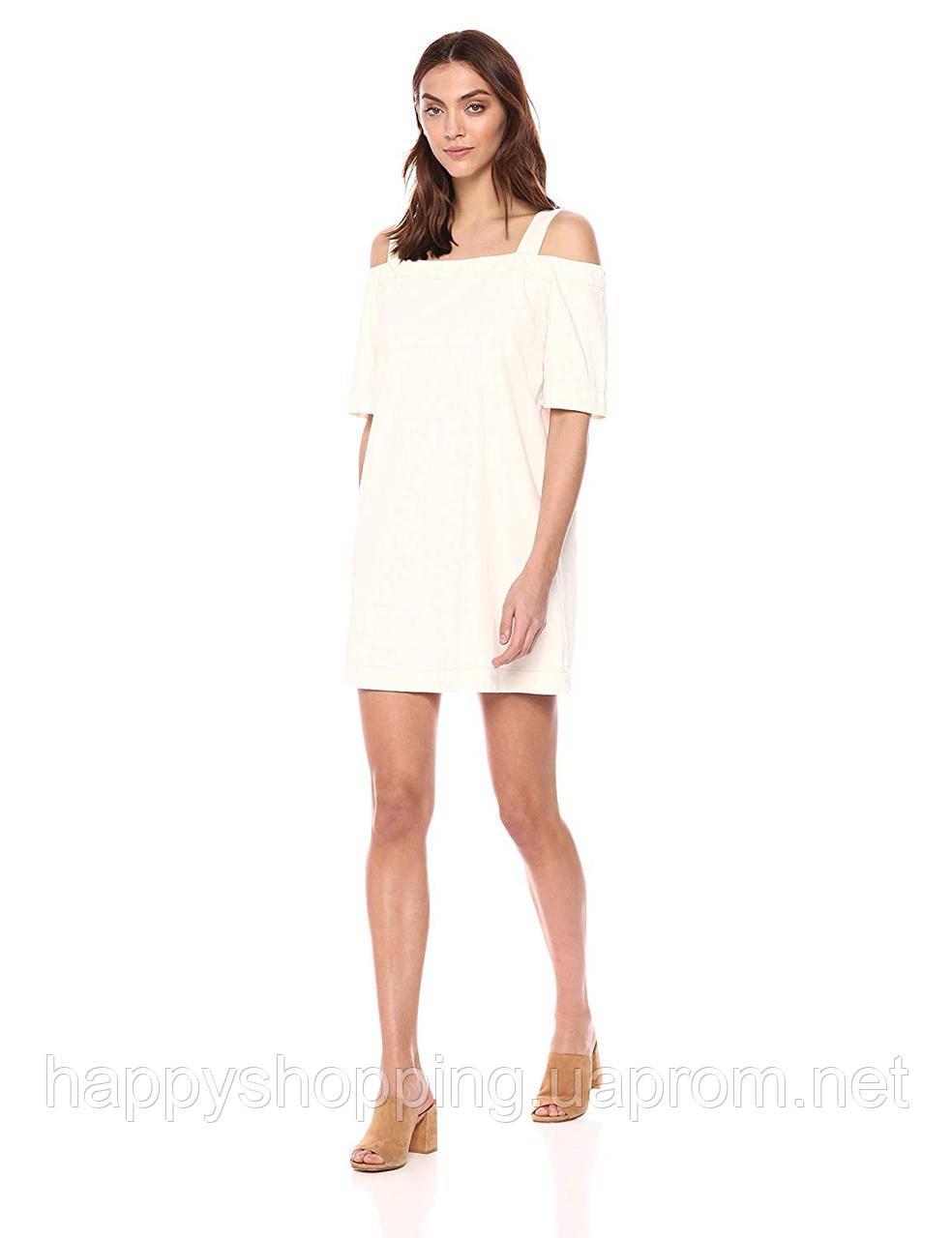 Женское светлое хлопковое платье на бретелях  Calvin Klein Jeans