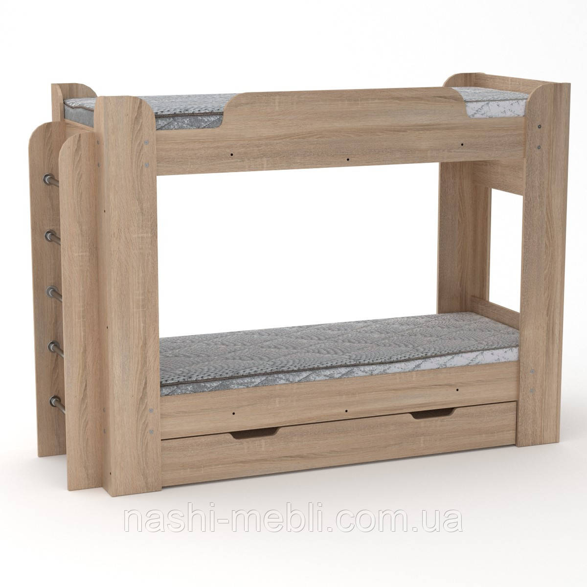Двоярусне ліжко Твікс