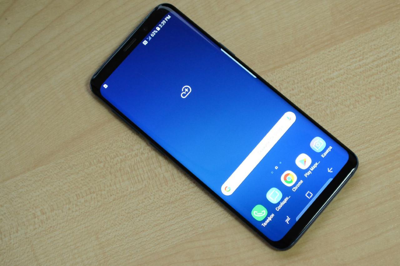 Samsung Galaxy S9 64Gb SM-G960U Coral Blue Оригинал!