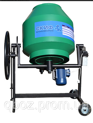 Бетономешалка / бетоносмеситель Скиф БСМ-200 литров, фото 2