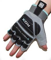 Жіночі рукавички для фітнесу RDX Blue L, фото 2