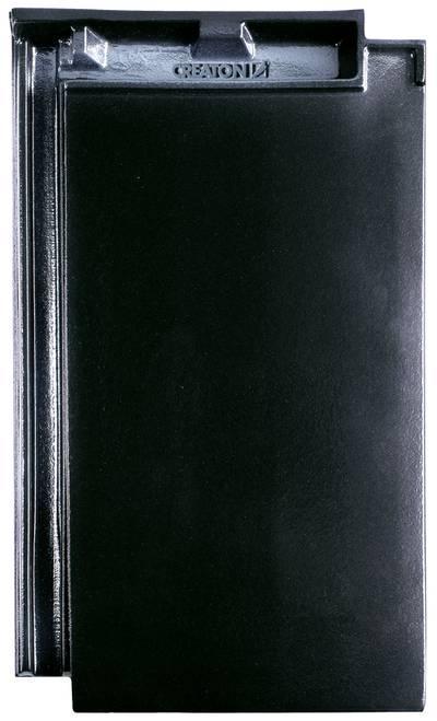 Керамическая черепица CREATON Domino Finesse черная глазурь